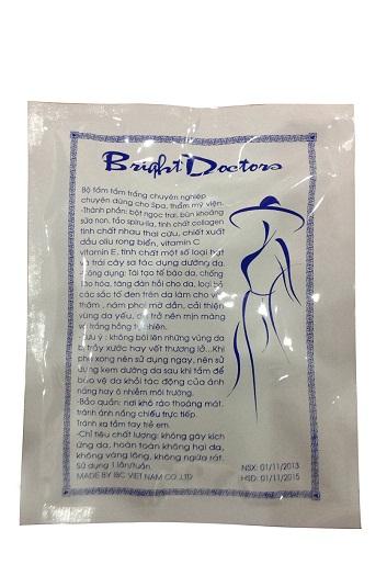 Kem tắm siêu trắng Spa Bright doctors 3 in 1