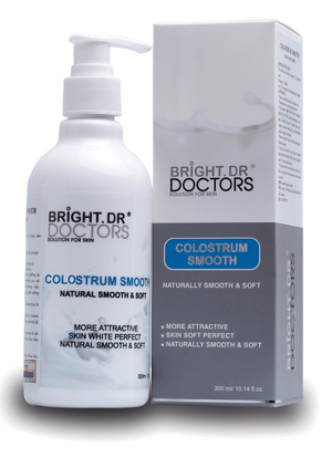 Sữa non Bright Doctors ủ dưỡng mềm mịn da