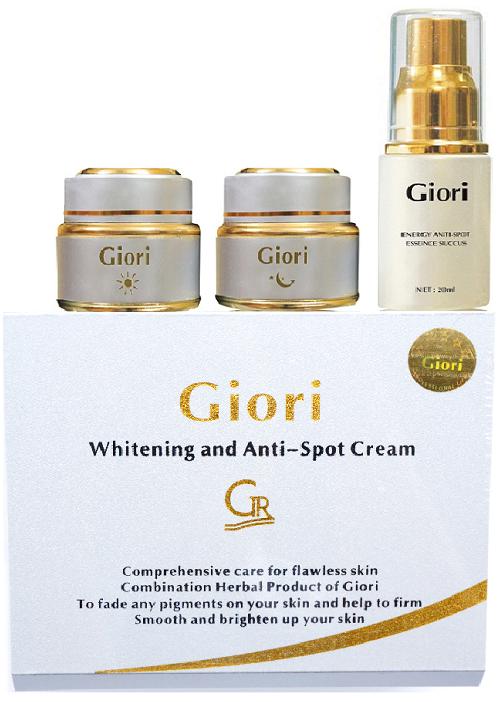 Kem trị nám tàn nhang dưỡng trắng da Giori (Bộ Gỗ)