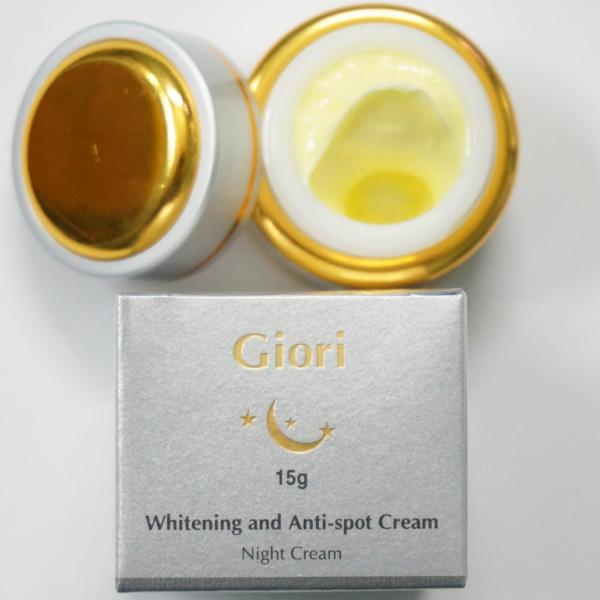 Kem đêm chống lão hóa trị nám Giori Night Cream