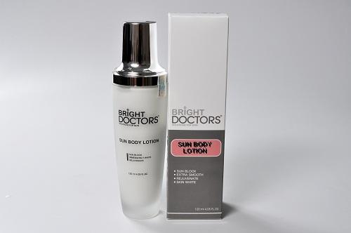 Kem Bright Doctors dưỡng da toàn thân chống nắng Sun Body Lotion