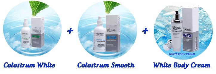 Sữa non tắm trắng Bright Doctors Colostrum White