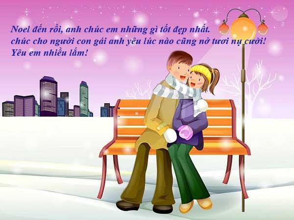 Những lời chúc giáng sinh cho người yêu