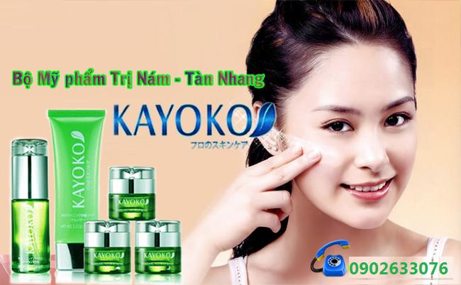 Kem Trị Nám Dưỡng Trắng Kayoko Nhật Bản (Bộ 5 Kayoko)