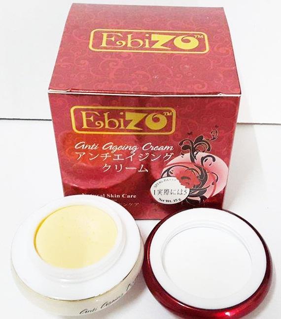 Kem trắng da chống lão hóa Ebizo Nhật Bản