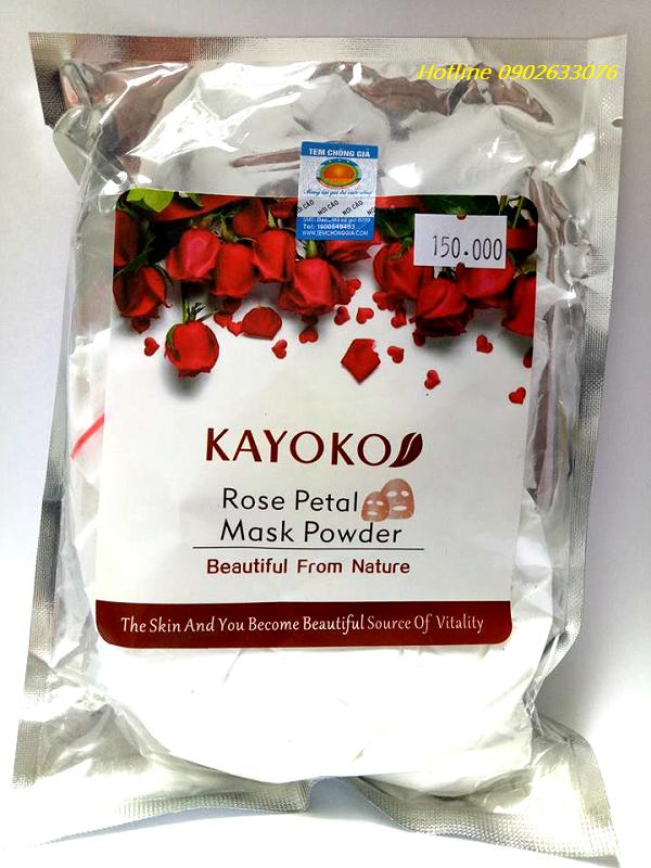 Bột Mặt Nạ Vàng Kayoko Nhật Bản