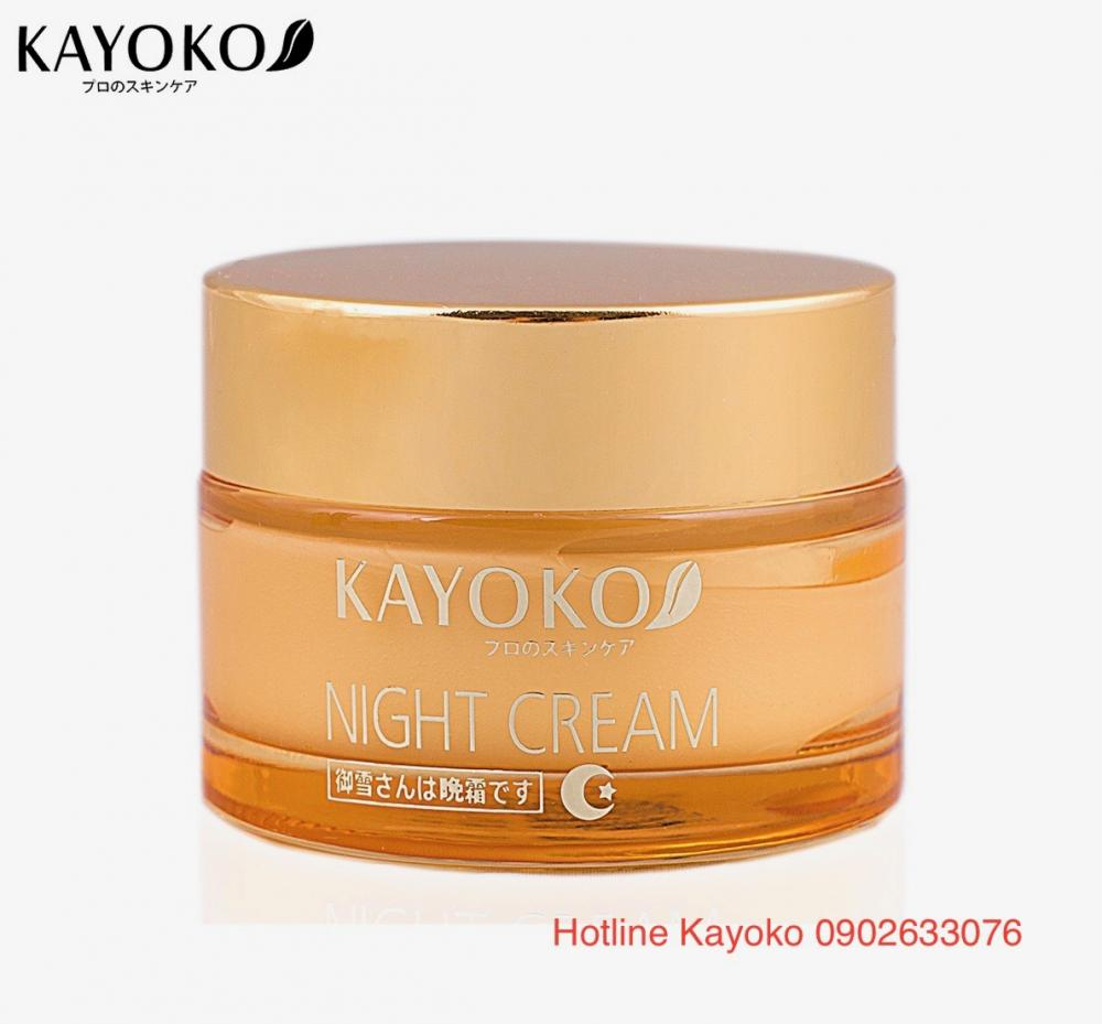 kem ngày kayoko day cream kem đêm kayoko night cream
