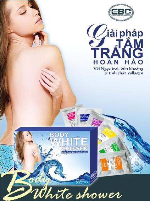 Bộ tắm trắng toàn thân Body White Shower