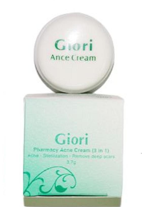 Kem dược trị mụn diệt khuẩn xóa thâm liền sẹo Giori