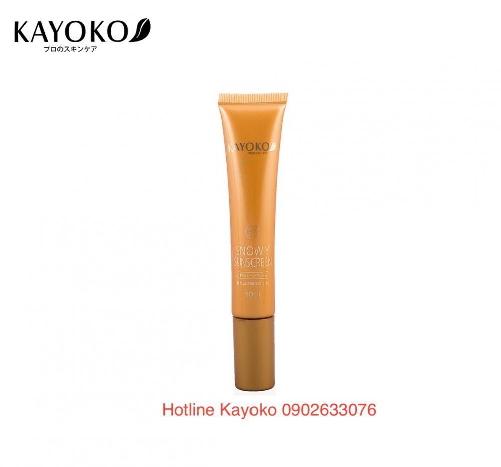 Kem Chống Nắng Thế Hệ Mới Kayoko BB Cream