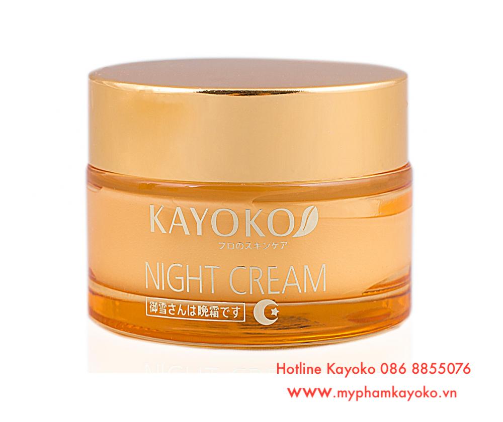 Kem Dưỡng Da Ban Đêm Kayoko Night Cream Thế Hệ Mới